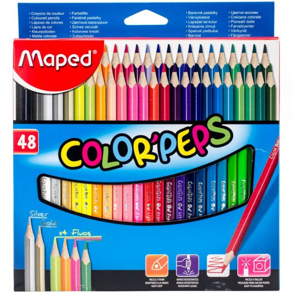 Maped Color'Peps Triangular Colored Pencils