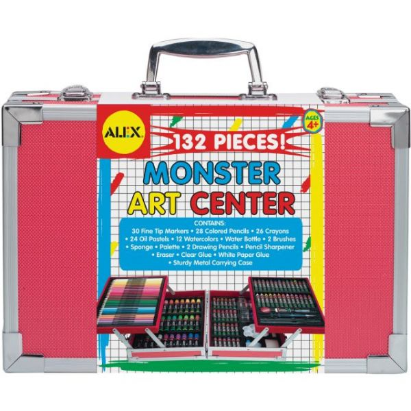 ALEX Toys Artist Studio Monster Art Center Kit