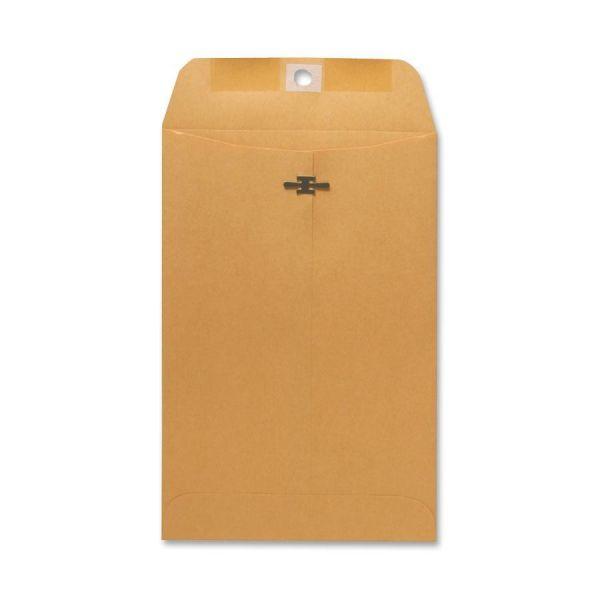 "Sparco Gummed 6"" x 9"" Clasp Envelopes"