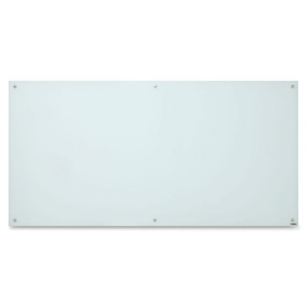 Lorell 6' x 3' Magnetic Glass Dry Erase Board