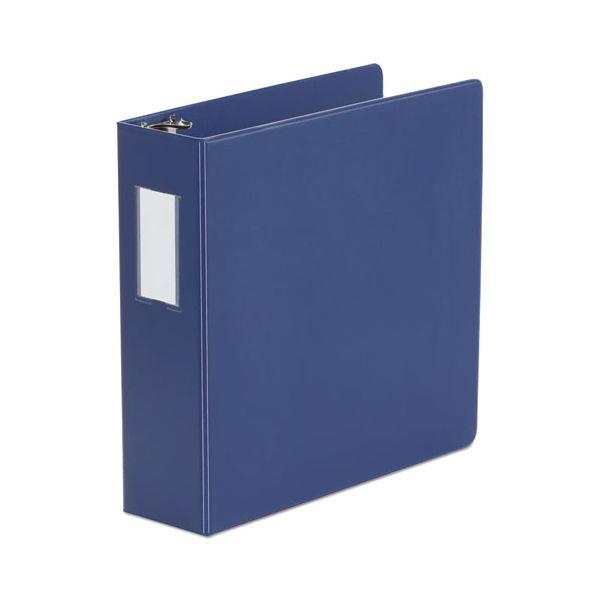 "Universal 3-Ring Binder, 3"" Capacity, D-Ring, Royal Blue"