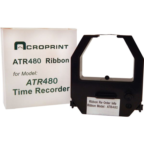 Acroprint 390127002 Ribbon Cartridge, Black/Red