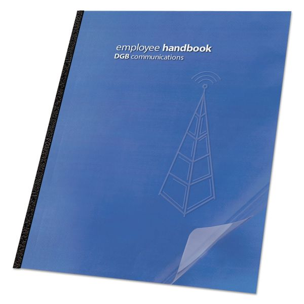 GBC ClearView Standard Presentation Binding Covers