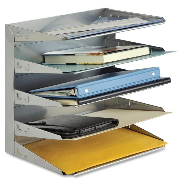 Steelmaster Soho 5-Tiered Desktop Horizontal File Organizer
