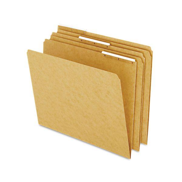 Pendaflex Kraft Angled Plastic Tab Colored File Folders