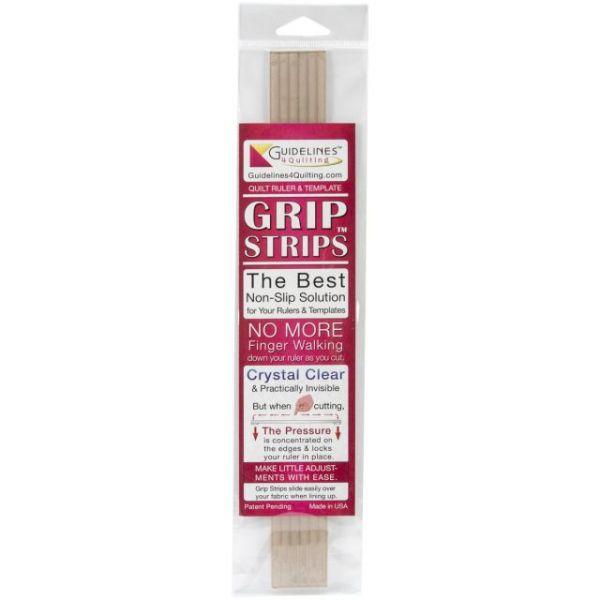 Crystal Clear Grip Strips 6/Pkg
