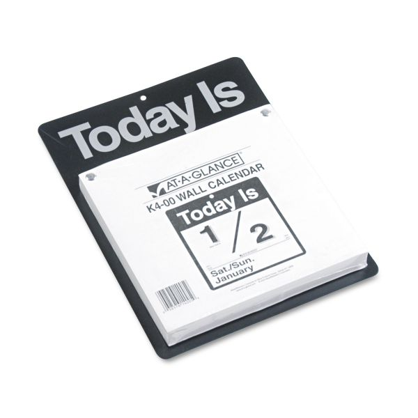 "At-A-Glance ""Today Is"" Daily Calendar"