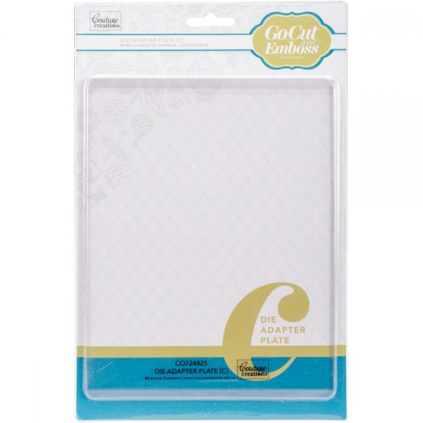 "Couture Creations GoCut Adapter Plate C 5.875""X7.75"""