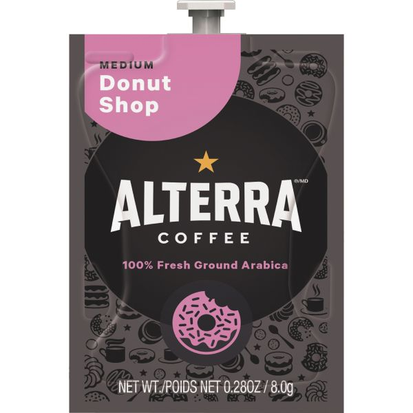 Alterra Donut Shop Blend Coffee Freshpacks