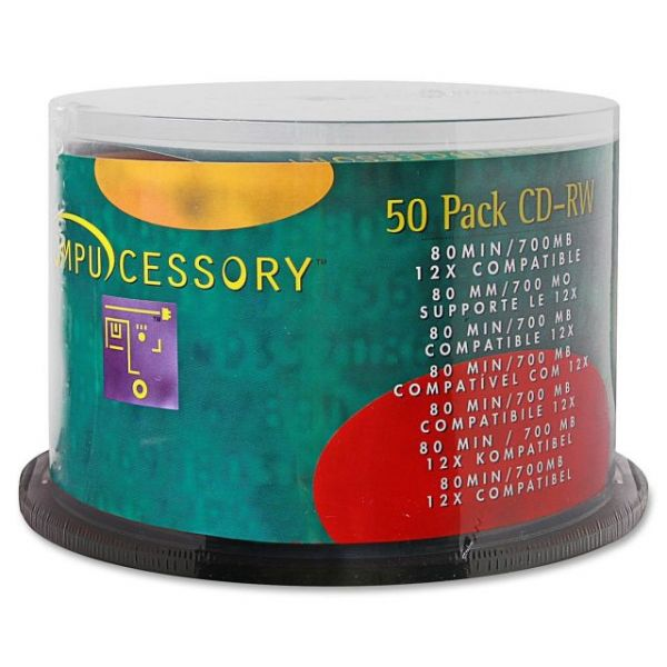 Compucessory Rewritable CD Media
