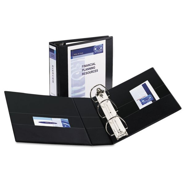 "Avery Durable Reference 4"" 3-Ring View Binder"