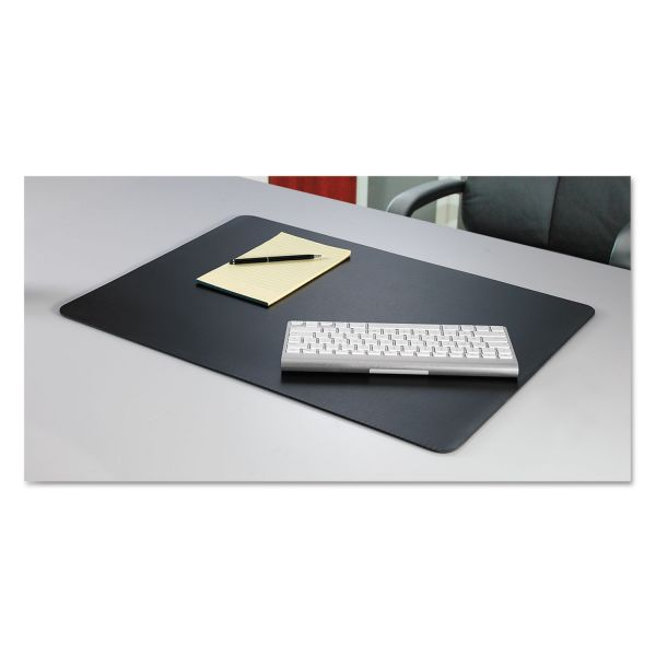 Artistic Rhinolin II Desk Pad with Microban, 36 x 24, Black