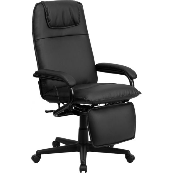 Flash Furniture High Back Executive Reclining Swivel Office Chair [BT-70172-BK-GG]