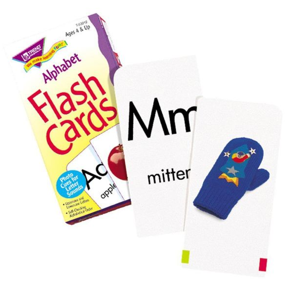 Trend Alphabet Flash Cards