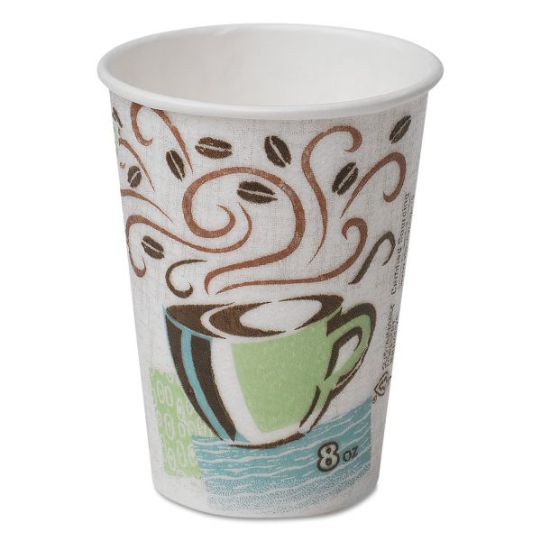 Dixie PerfecTouch 8 oz Coffee Cups