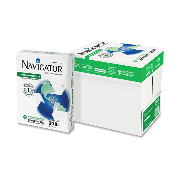 Navigator Premium Recycled White Copy Paper
