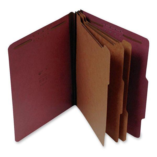 SJ Paper 3-Divider Pressboard Classification Folders