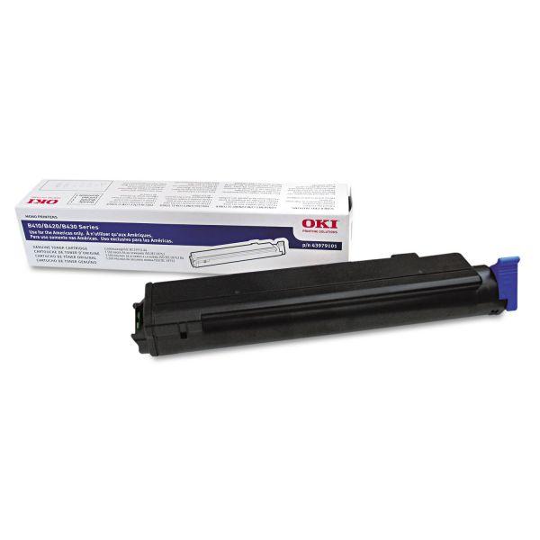 Oki 43979101 Black Toner Cartridge