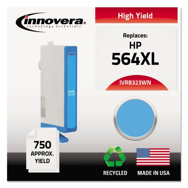 Innovera Remanufactured HP 564XL High-Yield Ink Cartridge
