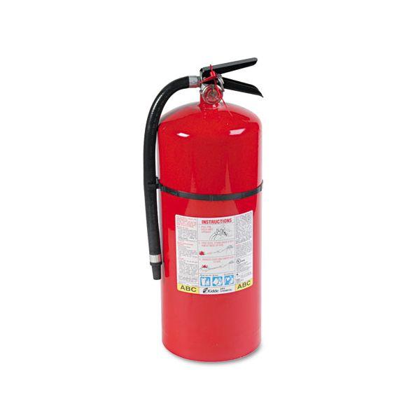 Kidde ProLine Pro 20 MP Fire Extinguisher, 6-A:80-B:C, 195psi, 21.6h x 7 dia, 18lb
