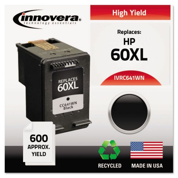Innovera Remanufactured HP 60XL High Yield Ink Cartridge