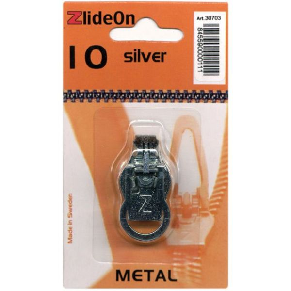 ZlideOn Zipper Pull Replacements Metal 10
