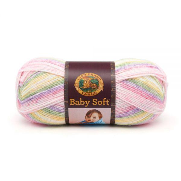 Lion Brand Baby Soft Yarn - Circus Print