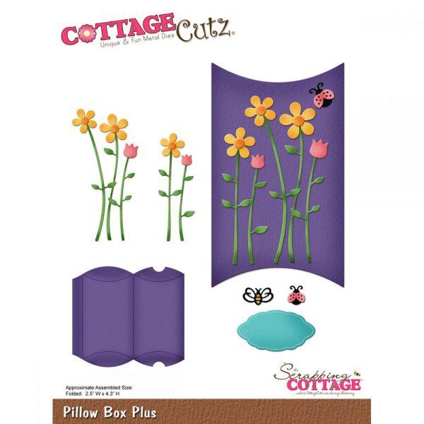 CottageCutz Pillow Box Plus Die