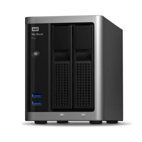 My Book Pro 8TB dual-drive, high-speed Tbolt2, Mac OS X RAID storage