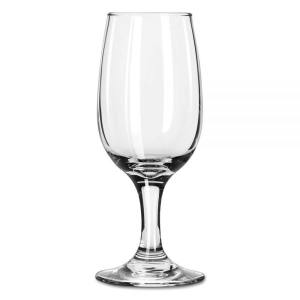 Libbey Embassy 6.5 oz Wine Glasses