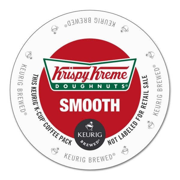 Krispy Kreme Doughnuts Smooth Coffee K-Cups