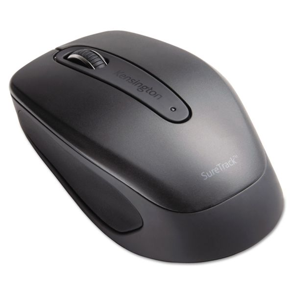 Kensington SureTrack Bluetooth Mouse, 3 Button, Black