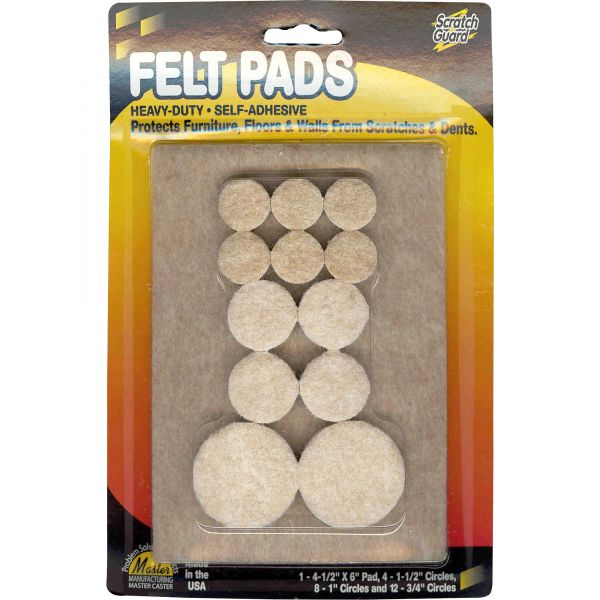 MASTER Scratch Guard Heavy Duty Combo Felt Pads
