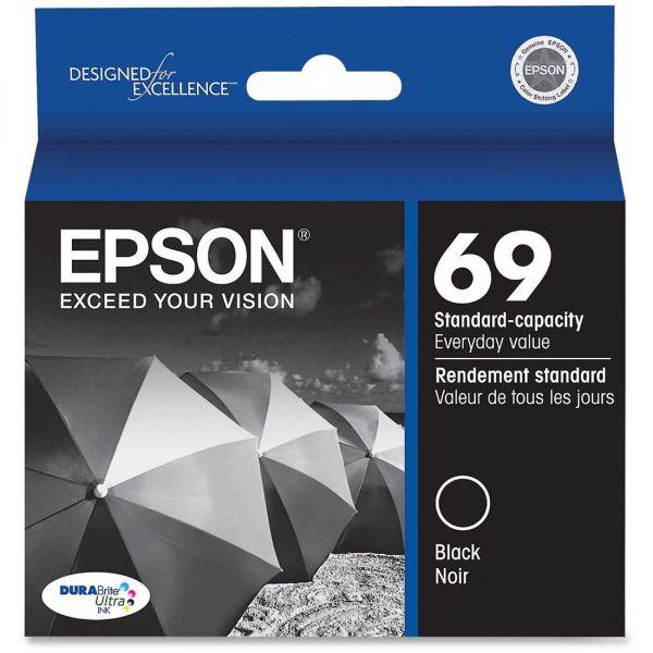 Epson 69 Black Ink Cartridge (T069120)