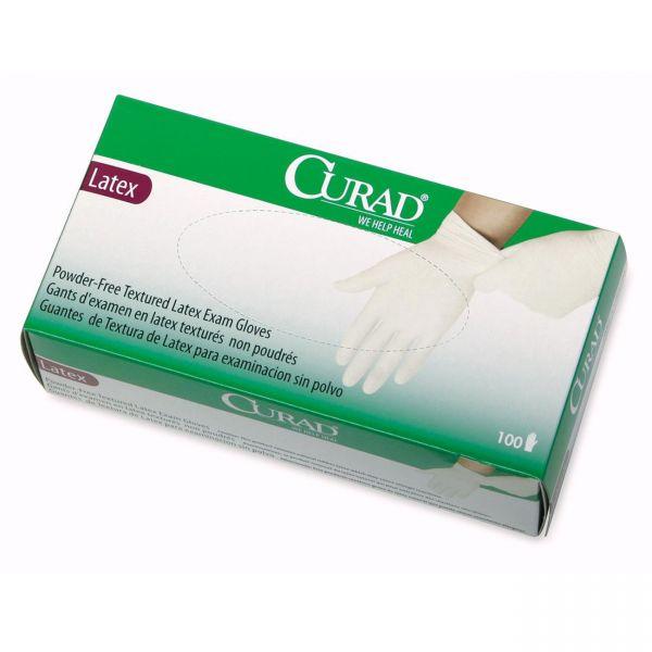 Curad Disposable Latex Exam Gloves