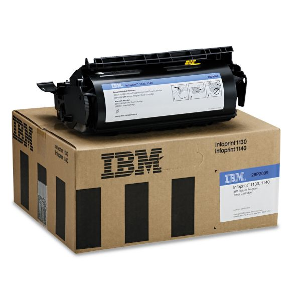 IBM InfoPrint 28P2009 Black Toner Cartridge