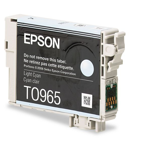 Epson T0965 Light Cyan Ink Cartridge (T096520)