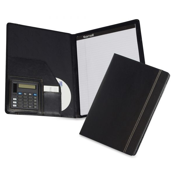 Samsill Pad Folio with Calculator