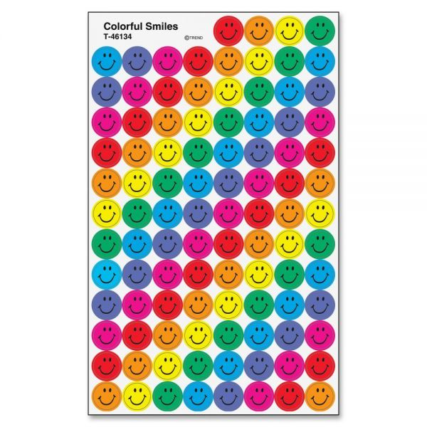 Trend Colorful Smiles superSpots Stickers