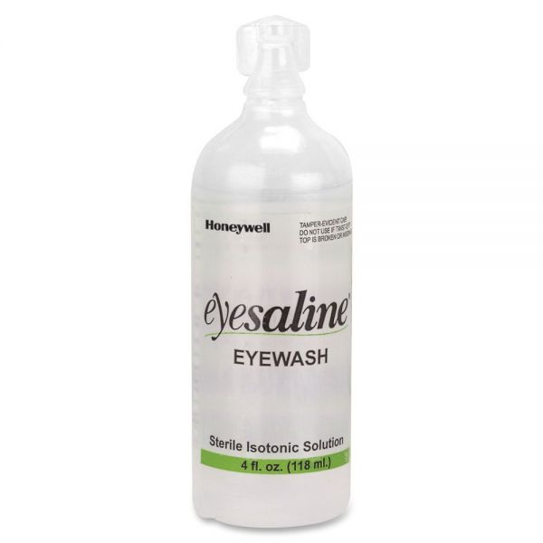 Honeywell Fendall Sterile 4 oz Eyewash Bottles