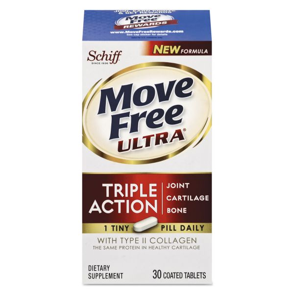 Move Free Ultra with UC-II Joint Health Tablets