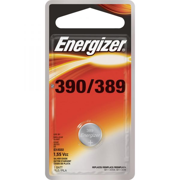 Energizer 390/389 Watch/Electronic Battery