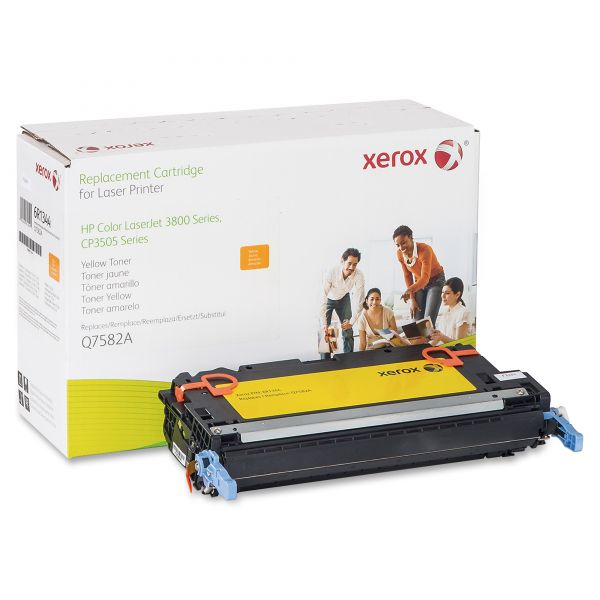 Xerox Remanufactured HP Q7582A Yellow Toner Cartridge