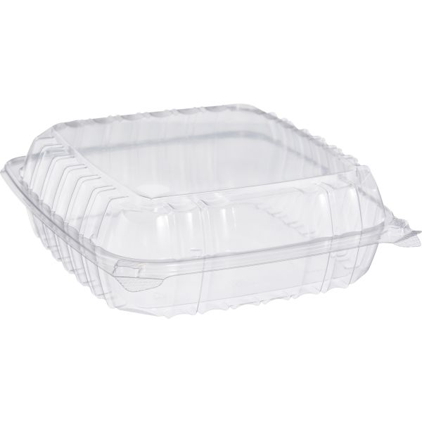 Dart ClearSeal Large Takeout Plastic Clamshell Food Containers