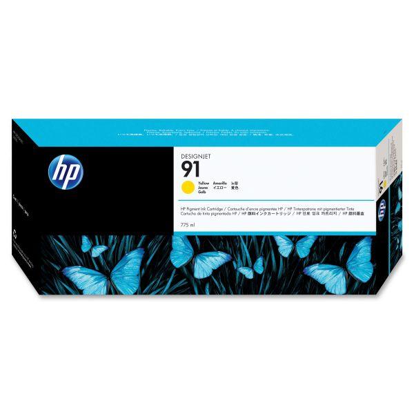 HP 91 Yellow Ink Cartridge (C9469A)