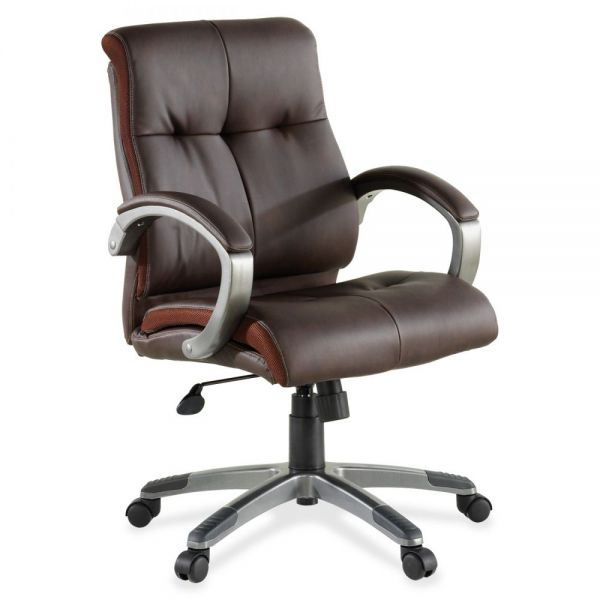 Lorell Leather Managerial Office Chair