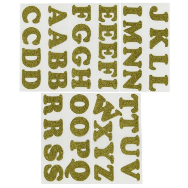 """Soft Flex Iron-On Letters 1.25"""" Cooper"""