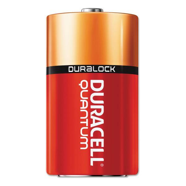 Duracell Quantum D Batteries
