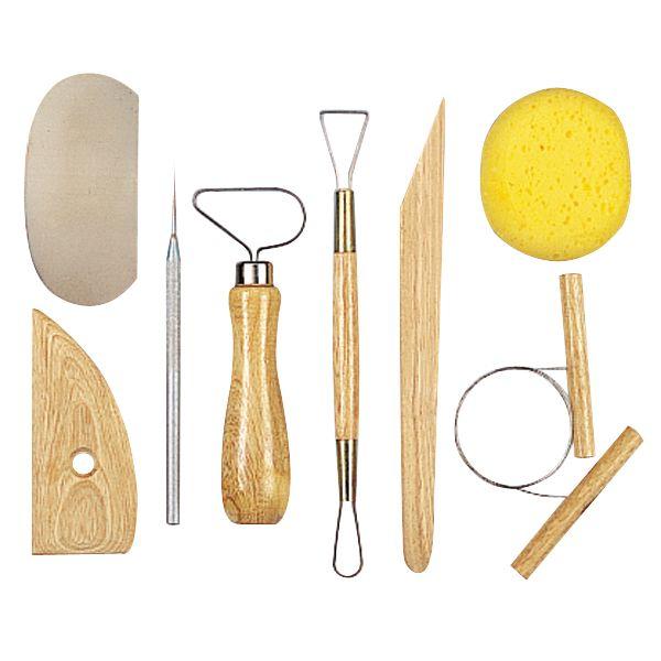 Pottery Tool Kit 8/Pkg