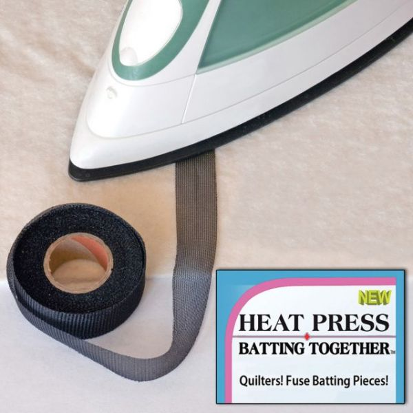 Heat Press Batting Together